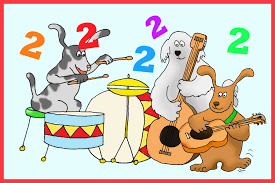 dog ians playing song 7 an invitation for a 2nd birthday party