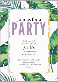 Party Invitations How To Make Free Party Invitations Lucidpress