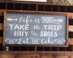 Eat Cake Buy Shoes Etsy