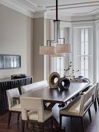 decorating ideas for dining room design with bech seating and table accessories dining room designs beautiful accessories home dining room