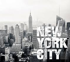nyc wallpaper wall mural by ohpopsi black white grey skyline of new york