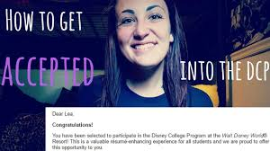 how to get accepted into the disney college program how to get accepted into the disney college program