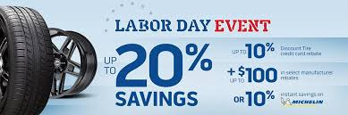 Discount tire company is an independent tire and wheel retailer. Labor Day Deals For Tires And Wheels Discount Tire