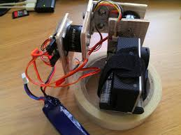 diy brushless camera gimbal handheld mini quadcopter oscar liang diy brushless camera gimbal wood side