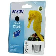 <b>Картридж</b> струйный <b>Epson T0481</b> C13T04814010 <b>черный</b> ...