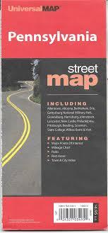 Pennsylvania State Fold Map 9780762551057 Amazon Com Books