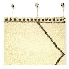 moroccan diamond rug blue