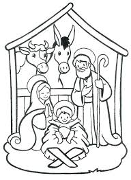 Free Nativity Coloring Pages C5549 Free Nativity Coloring Pages For