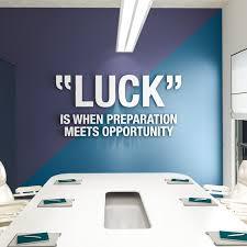 3D Office Design Interesting Luck Office Wall Art Office Design 48D Office Decor Etsy
