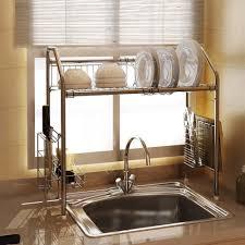 1208s dish dryer rack stainless steel sink storage shelf flexible inspiring ideas