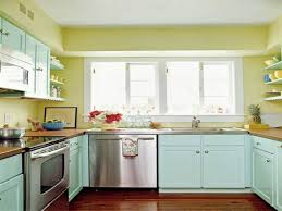Paint Color For Small Kitchen Small Green Kitchen Design Quicuacom