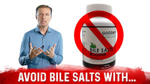 never take bile salts with these 3