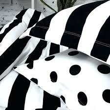 black and white polka dot sheets black and white striped bedding soft cotton for black and