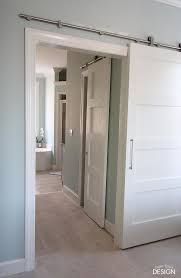 how install and build a barn door including changing the old frame