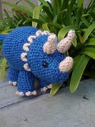 Crochet Dinosaur Pattern Enchanting Ravelry Triceratops Dinosaur Pattern By Joanne Succari