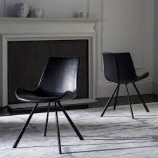 safavieh terra mid century modern black black dining chair set of 2 free today com 22687166