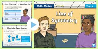 Lines Of Symmetry Powerpoint Year 4 Line Of Symmetry Maths Mastery Powerpoint Reasoning