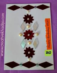 handmade glitter cards making ideas decoration ideas for file with fomic sheet