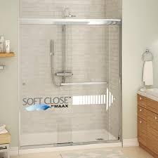 aura sc 8 mm semi frameless sliding shower door