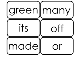 46 Printable Dolch 2nd Grade Sight Word Flashcards