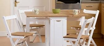 Collapsible dining table Person Mysmallspace Folding Dining Tables For Small Spaces
