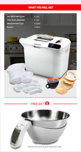 Pc Richards Kitchen Appliances Morphy Richards Premium Breadmaker