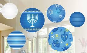 hanukkah lantern balls for a bold and festive decoration