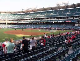 Angel Stadium Of Anaheim Section 108 Seat Views Seatgeek