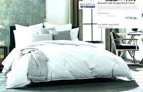 kenneth cole duvet cover theo full queen in green