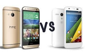 HTC One mini 2 vs Motorola Moto G 4G ...