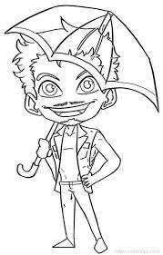 Children can easily fill colors in the umbrella and therefore these are likable. Umbrella Academy Coloring Pages Klaus Xcolorings Com