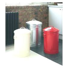 charming metal kitchen garbage can u9270080 metal kitchen trash cans with lids