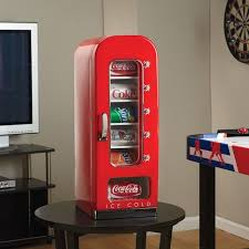 Mini Coca Cola Vending Machine Beauteous CocaCola Vending Fridge Petagadget