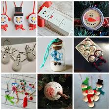 Snowman ornaments are super popular for Christmas! Aside from all the snowman  Christmas ornaments on