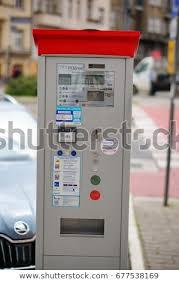 Parking Vending Machine New Zdm Parking Ticket Vending Machine Parking Stock Photo Edit Now