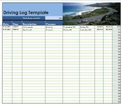 driving log template driver log template microsoft office templates