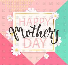 Mothers Greeting Card Happy Mothers Day Greeting Card Vector Illustration Of Holiday