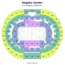 Staples Center Seating Chart Views And Reviews Los