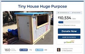 Small Picture SEE IT Los Angeles man builds tiny house for homeless woman NY
