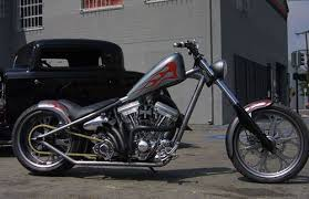 2003 jesse james el diablo rigid custom west coast chopper tv bike