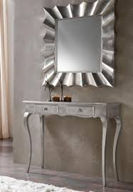 With a clean and appealing look, the white console will add luxurious look  in the hallway. On the white table, you can place sophisticated table lamp  and ...