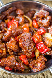panda express beijing beef is an awesome copycat of the original with crispy strips of marinated beef bell peppers and sliced onions tossed in the wok
