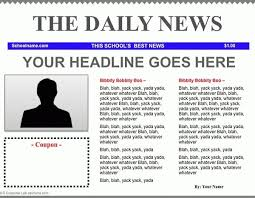 Newspaper Article Template Students Newspaper Article Template Google Docs Vatoz Hub Rural Co