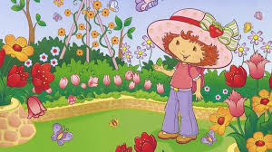 puter strawberry shortcake 4k ultra hd background wallpapers