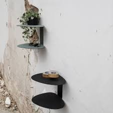 the curve wall shelf by linddna