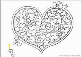 Valentine Heart Coloring Pages 543 Free Printable Valentine S Day