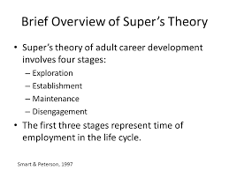 Supers Career Stages And The Decision To Change Careers