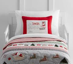 North Pole Toddler Quilt   Pottery Barn Kids & North Pole Toddler Quilt Adamdwight.com