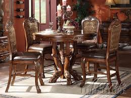 Dresden 5 Piece Counter Height Dining Set in Cherry Finish by Acme  12160