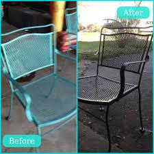 diy metal furniture. Scarp Off Rust Lightly Sand And Spray Paint Patio Furniture Redo Just Need Diy Metal
